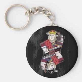 王Of Heartsも及び海賊 キーホルダー
