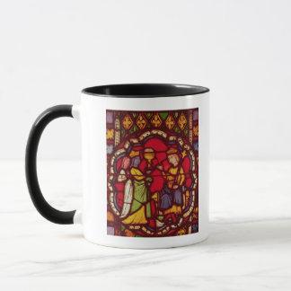 王SolomonおよびSheba、c.1270の女王 マグカップ