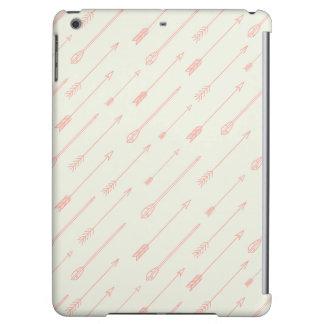 珊瑚によって輪郭を描かれる矢パターン iPad AIRケース