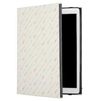 """珊瑚によって輪郭を描かれる矢パターン iPad PRO 12.9"""" ケース"""