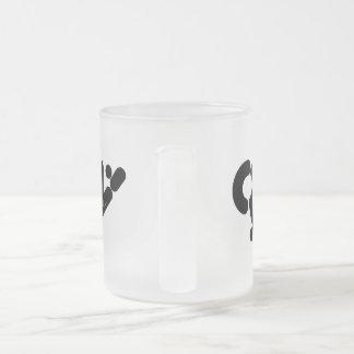 珊瑚にマグ(a) フロストグラスマグカップ