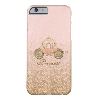 珊瑚のおとぎ話のプリンセスのiPhone6ケース Barely There iPhone 6 ケース
