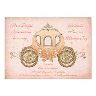 珊瑚のおとぎ話のプリンセスキンセアニェラの招待状 カード