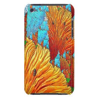 珊瑚のイラストレーション Case-Mate iPod TOUCH ケース