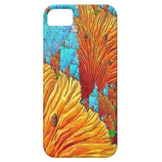 珊瑚のイラストレーション iPhone SE/5/5s ケース