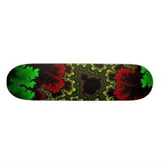 珊瑚のコラージュのスケートボード スケートボード