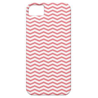 珊瑚のシェブロン iPhone SE/5/5s ケース