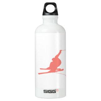 珊瑚のピンクのスキー SIGG トラベラー 0.6L ウォーターボトル