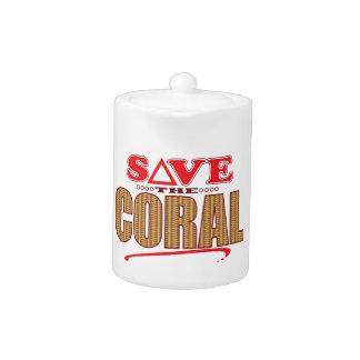 珊瑚の保存