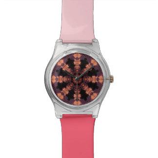 珊瑚の日没 腕時計