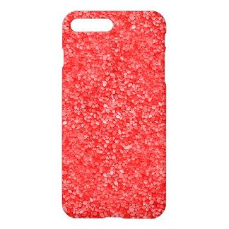 珊瑚の赤い砂利の一見 iPhone 8 PLUS/7 PLUSケース