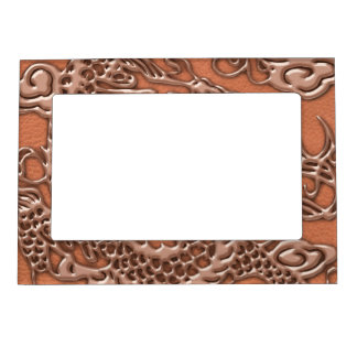 珊瑚の革質の銅のドラゴン マグネットフレーム