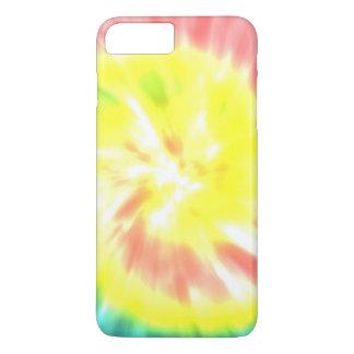 珊瑚の黄色い絞り染め iPhone 8 PLUS/7 PLUSケース
