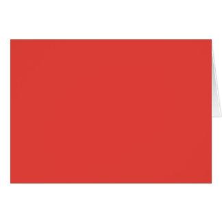 珊瑚の(無地ので豊富な赤味がかピンク色の) ~ カード