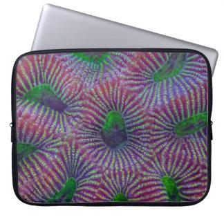 珊瑚パターン ラップトップスリーブ