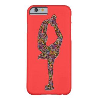 珊瑚フィギュアスケート選手のiphoneの場合の渦巻形のな色 barely there iPhone 6 ケース