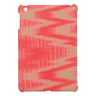 珊瑚ベージュジグザグ形 iPad MINIケース