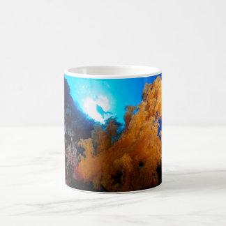 珊瑚海のコーヒー・マグ コーヒーマグカップ