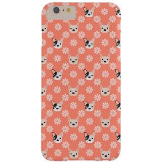 珊瑚犬および花 BARELY THERE iPhone 6 PLUS ケース