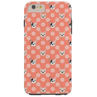 珊瑚犬および花 TOUGH iPhone 6 PLUS ケース