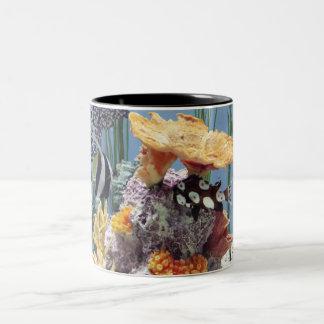 珊瑚礁のマグ ツートーンマグカップ