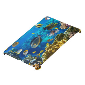 珊瑚礁の熱帯魚の写真 iPad MINIケース