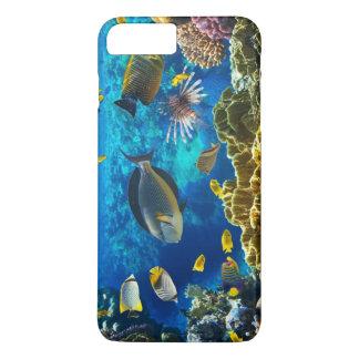 珊瑚礁の熱帯魚の写真 iPhone 8 PLUS/7 PLUSケース