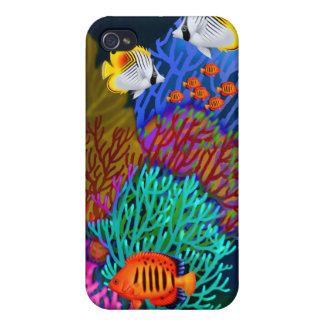 珊瑚礁の生命Speckのカラフルな箱 iPhone 4/4S ケース