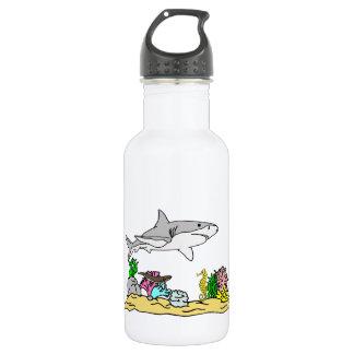 珊瑚礁の鮫 ウォーターボトル