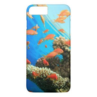 珊瑚礁のLyretailのanthias iPhone 8 Plus/7 Plusケース