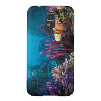 珊瑚礁のSamsung S5の例 Galaxy S5 ケース
