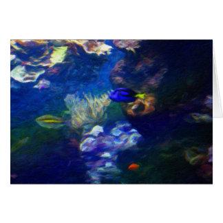 珊瑚礁 カード