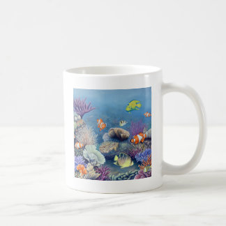 珊瑚礁 コーヒーマグカップ