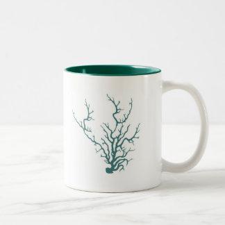 珊瑚 ツートーンマグカップ