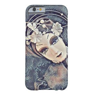 珍しいデザイン-人形の顔 BARELY THERE iPhone 6 ケース