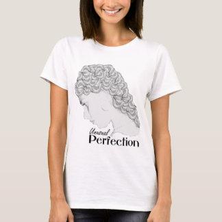 珍しい完全さのTシャツ-口の型枠の毛 Tシャツ