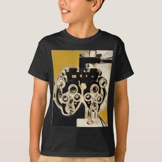 珍しく芸術的なOptometryの検査レンズ Tシャツ
