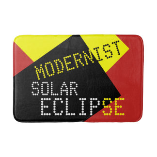 現代主義の日食のおもしろいなカスタマイズ可能 バスマット
