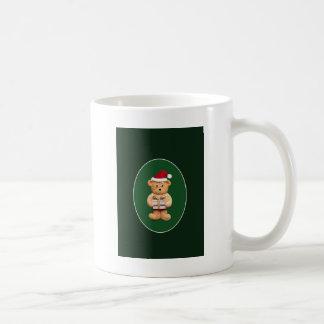 現在とのクリスマステッド コーヒーマグカップ