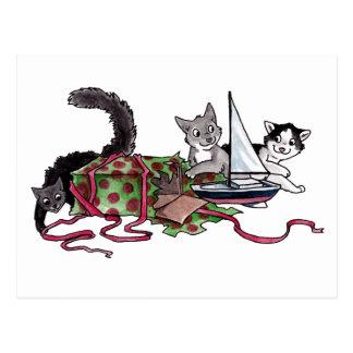 現在の猫ちゃん ポストカード