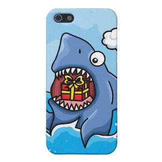 現在を持つ鮫 iPhone 5 ケース