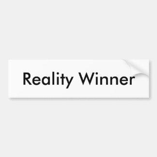 現実の勝者 バンパーステッカー