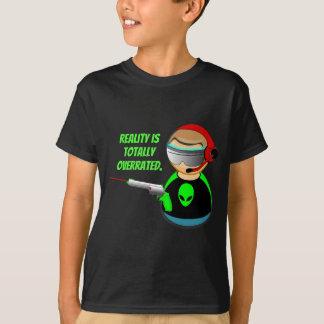 現実は全く大げさです Tシャツ