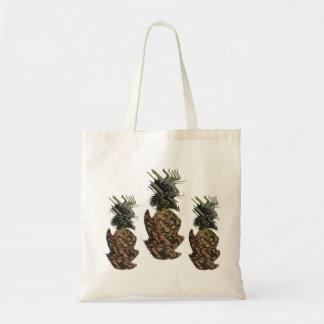 現実対パイナップル トートバッグ