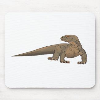 現実的なコモドオオトカゲかオオトカゲ マウスパッド