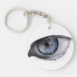 現実的な目のキーホルダー キーホルダー