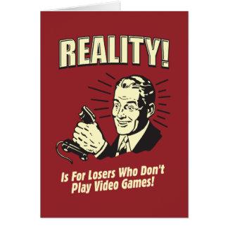 現実: 敗者のため カード