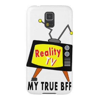 現実TV古いfashhioned TV私のBFFの銀河系S5の箱 Galaxy S5 ケース