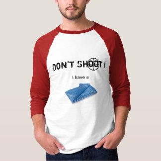 現物交易の防水シートのRaglan Tシャツ