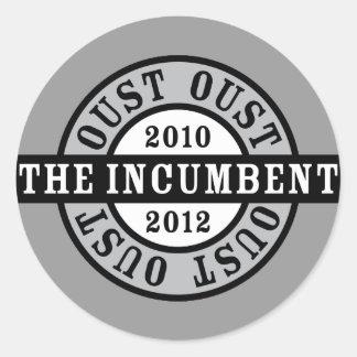 現職の2010年および2012aを追い払って下さい ラウンドシール
